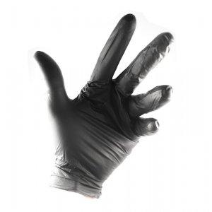 Guanti neri in Nitrile senza polvere alta qualità