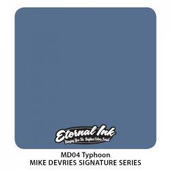 Colore Eternal Ink MD04 Typhoon Mike Devries Signature Series
