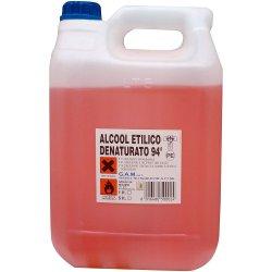 Alcool denaturato 94°, 5lt