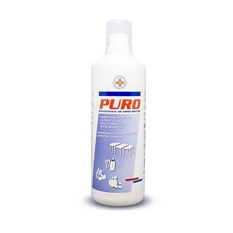 DECS puro 1LT, disinfettante liquido concentrato