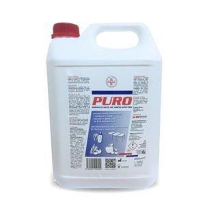 DECS puro 5LT, disinfettante liquido concentrato