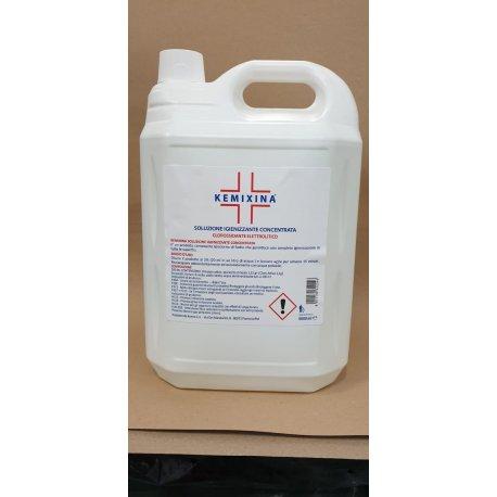 KEMIXINA SANITIZING SOLUTION 5LT, chlorine based