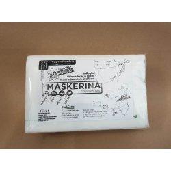 Mascherine monouso protettive, conf. 30pz