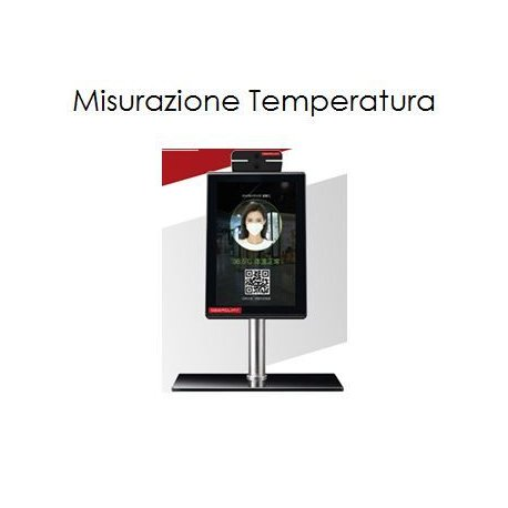 Digital thermoscanner - automatic temperature measurement