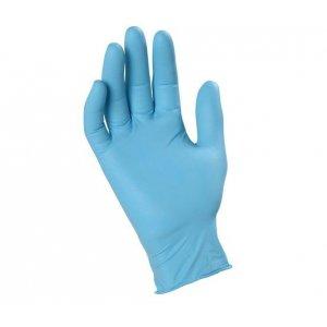 Guanti in Nitrile Lite azzurri senza polvere