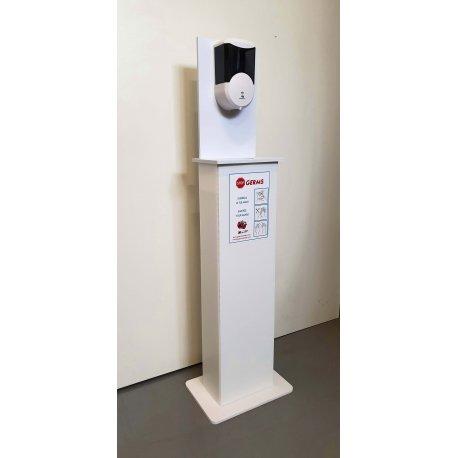 Colonnina STOP GERMS per dispenser automatico