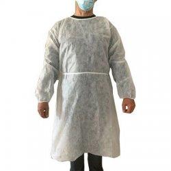 disposable coat in water repellent TNT