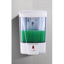 Automatic DISPENSER for hand gel and soap with photocell