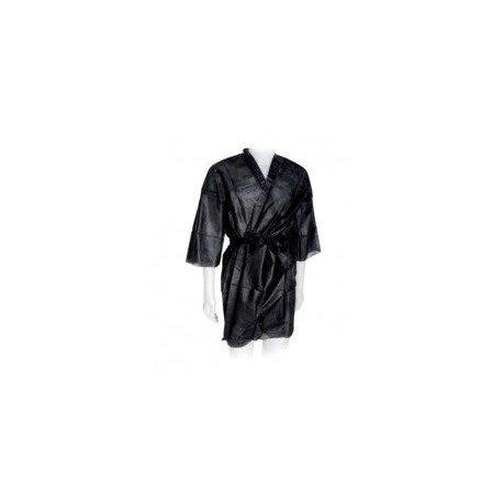 Kimono monouso nero in tnt
