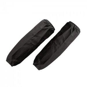 Manicotti elastici neri in TNT