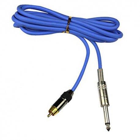 Clip cord RCA/jack in silicone