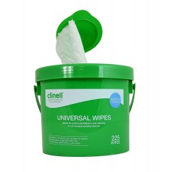 CLINELL GERMICIDA WIPES FOR HANDS AND SURFACES
