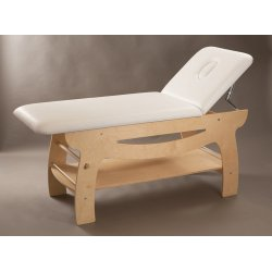 aesthetic table massage model SPA birch color or wenge