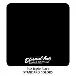 Color Eternal Ink E02 Triple Black
