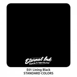 Color Eternal Ink E01 Lining Black