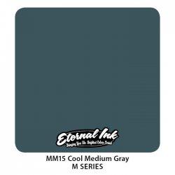 Color Eternal Ink MM15 Cool Medium Gray 30ml