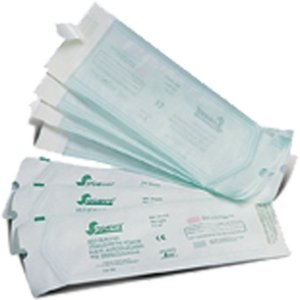 BAGS FOR STERILIZATION SELF-SEALING 26x9cm, Pack of 20pcs