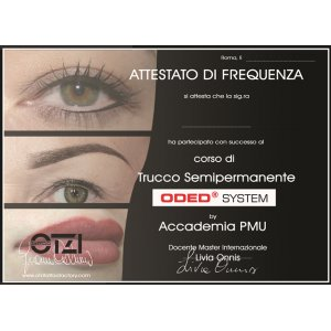 semipermanent makeup foundation course Otzi Tattoo - full optional