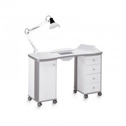 DOUBLE TABLE for nail reconstruction with vacuum cleaner
