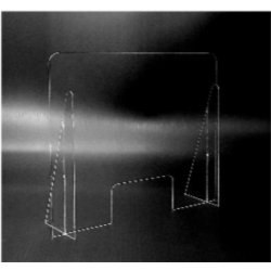 Anti-bacterial Plexiglass Parafiato Panel
