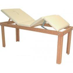 lettino per massaggi e trattamenti relax in legno massello RELAX - colore naturale