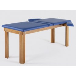 massage table for postural with two joints  - natural color