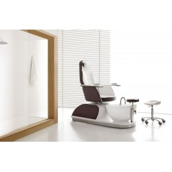 Elegant chair with tub pedicures built