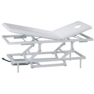 """Massage bed """"strong massage"""" with electric lift -"""