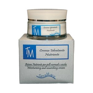 Facial moisturizing cream for dry, dehydrated skin