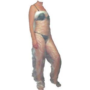 Pantalone per trattamenti con fanghi e pressoterapia
