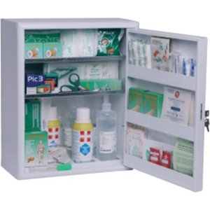 FIRST AID CABINET LARGE, for more than 2 employees