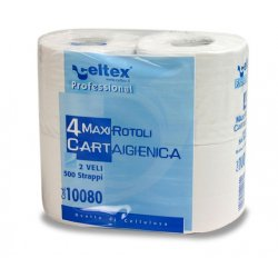 "CARTA IGIENICA "" CASALINGA "" COMPACT, 4 maxi rotoli"