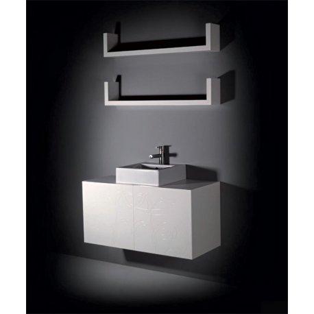 SPAZEN LAB 1, mobile di servizio con lavabo