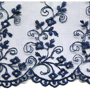 SHEETS LACE BLUE