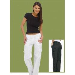 pantaloni KATE, in tessuto irrestringibile con 2 tasche laterali con cinghia regolabile