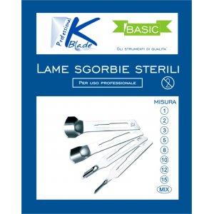 "LAME SGORBIE MIX KBLADE - linea ""BASIC"" confezione mista"