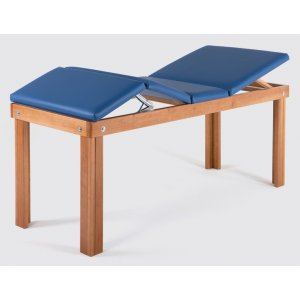Massage table and relaxation treatments in solid wood - RELAX
