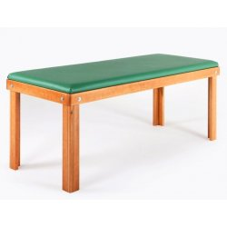 fix Massage table for medical and physiotherapy, single section - with wood colors