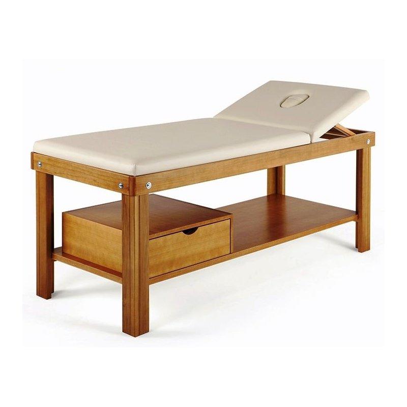Lettino Fisso Da Massaggio.Elegante Lettino Per Massaggio Con Cassetto Lettino Da Massaggio