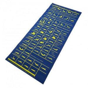 Gym mattress rubber silkscreened