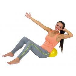 Inflatable ball for gymnastics