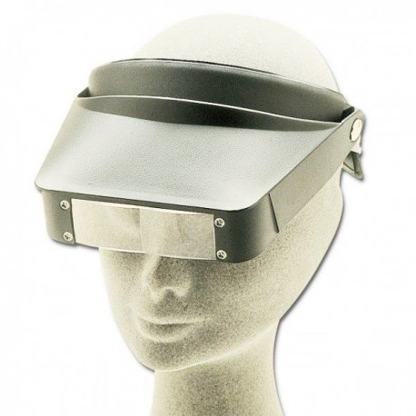 Eyewear head loupe - magnification 2.2x - 3.3x
