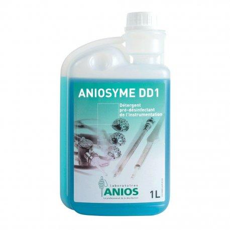 Enzymatic detergent Aniosyme DD1, decontaminating, 1 liter with dispenser
