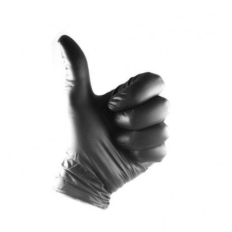blacks latex gloves TOP quality